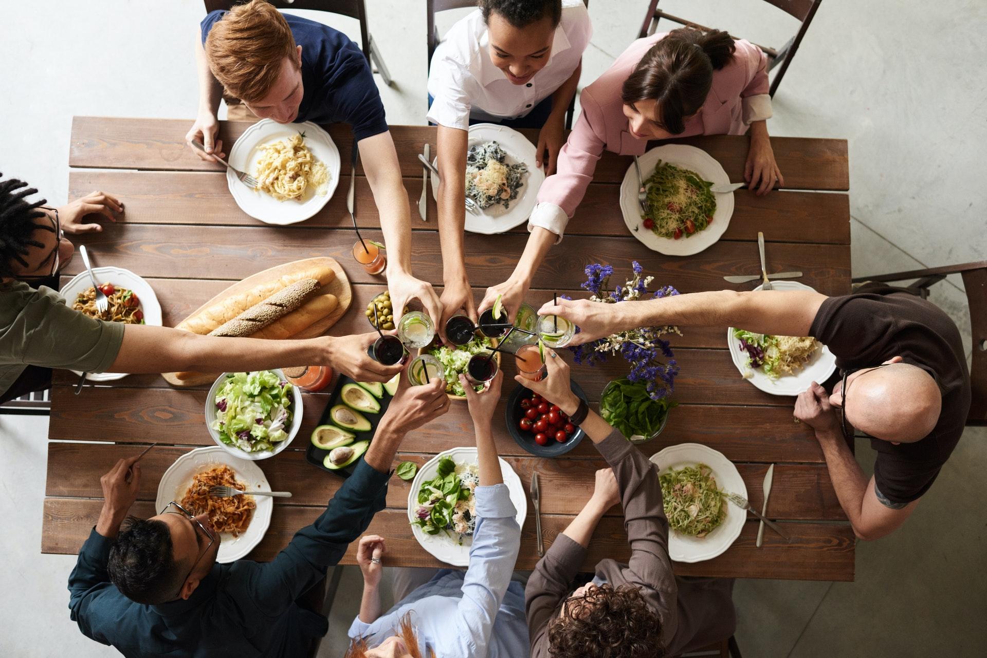 Multiracial Meal